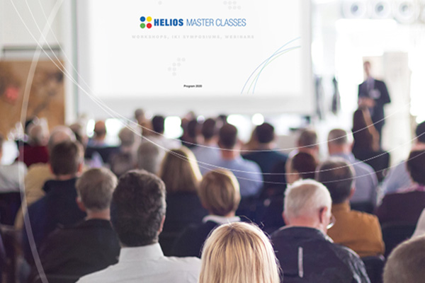 Audience of a Helios Master Classes event