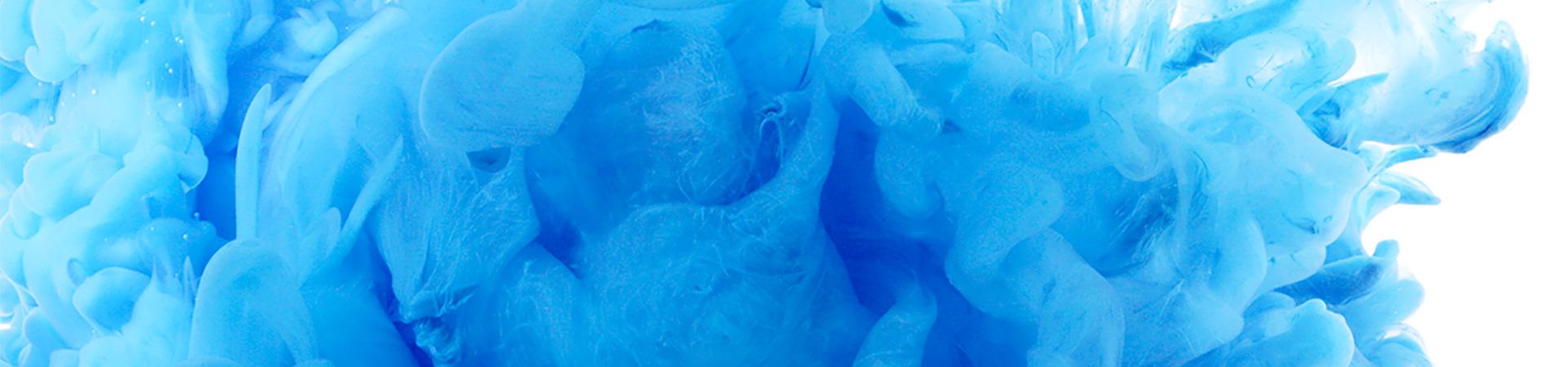 Blue colour splash illustration