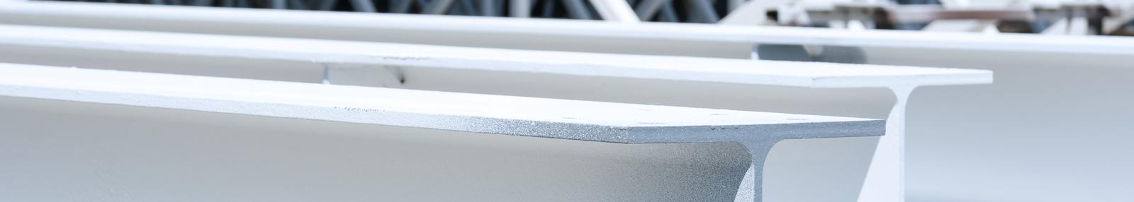 White steel elements