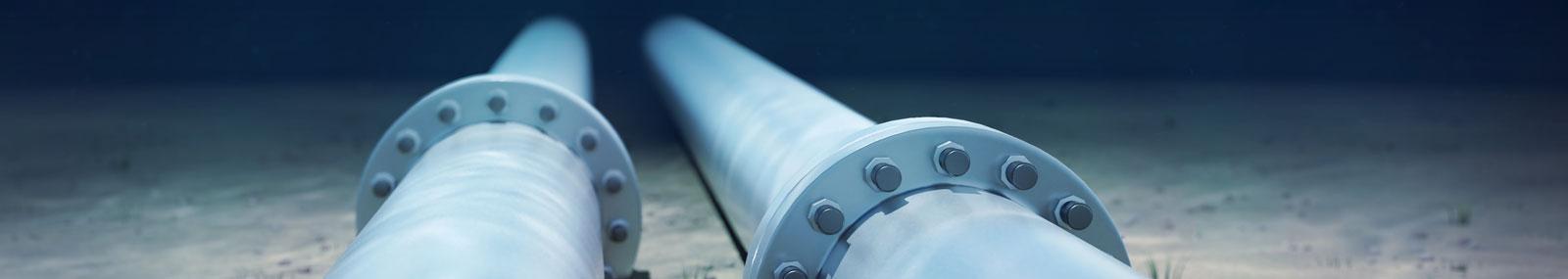 underwater steel pipe