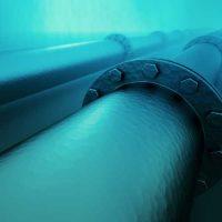underwater pipe